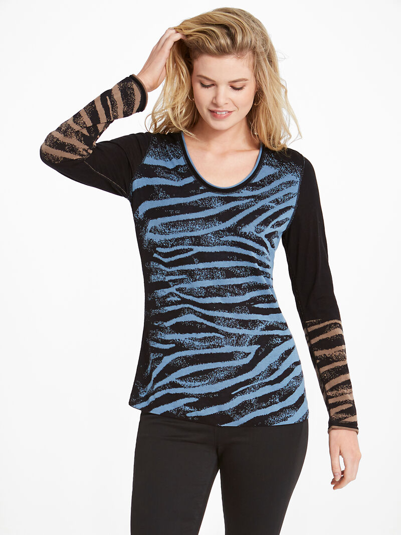 Wild Side Reversible Sweater
