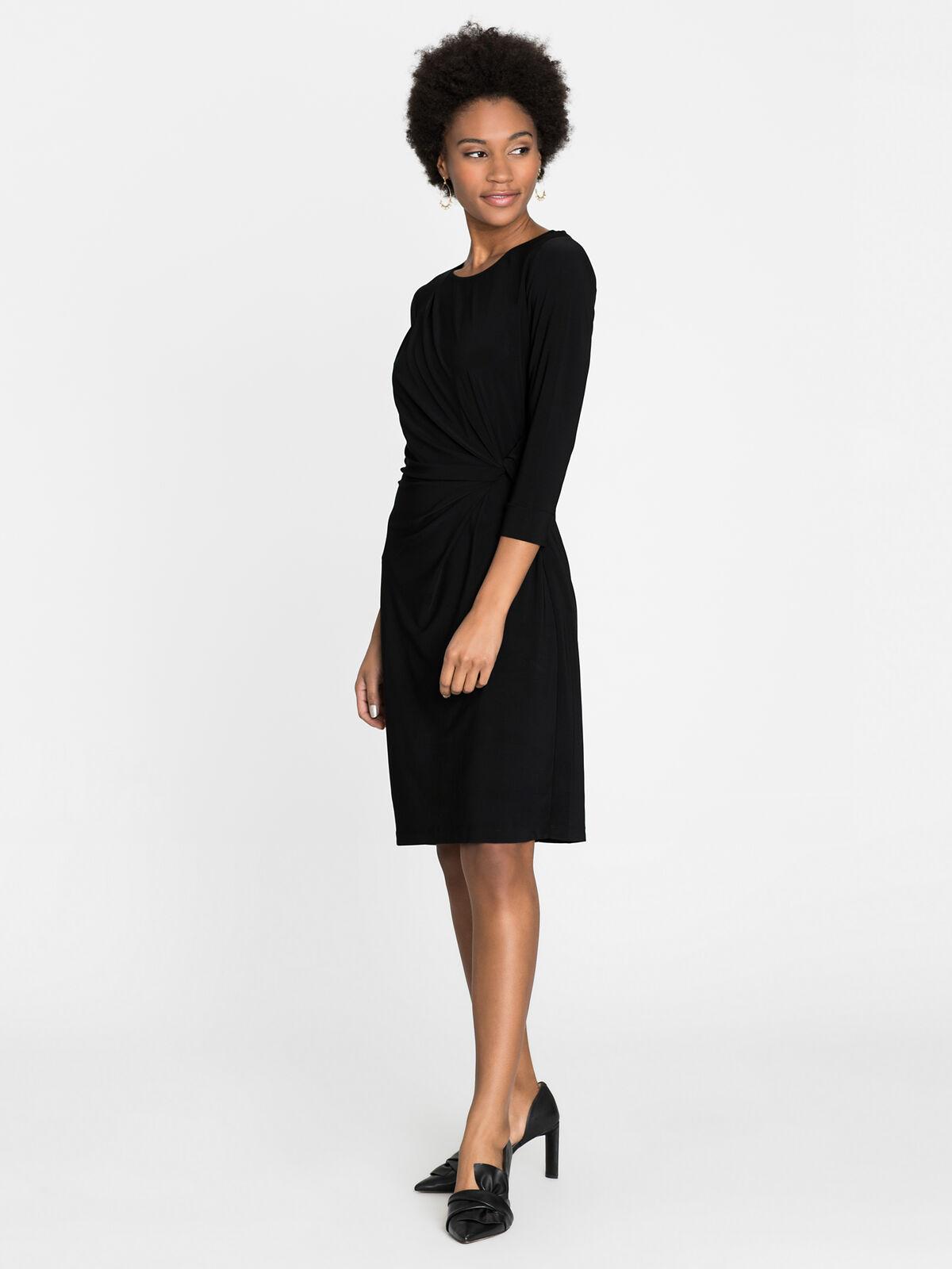 Sleeved Twist Dress