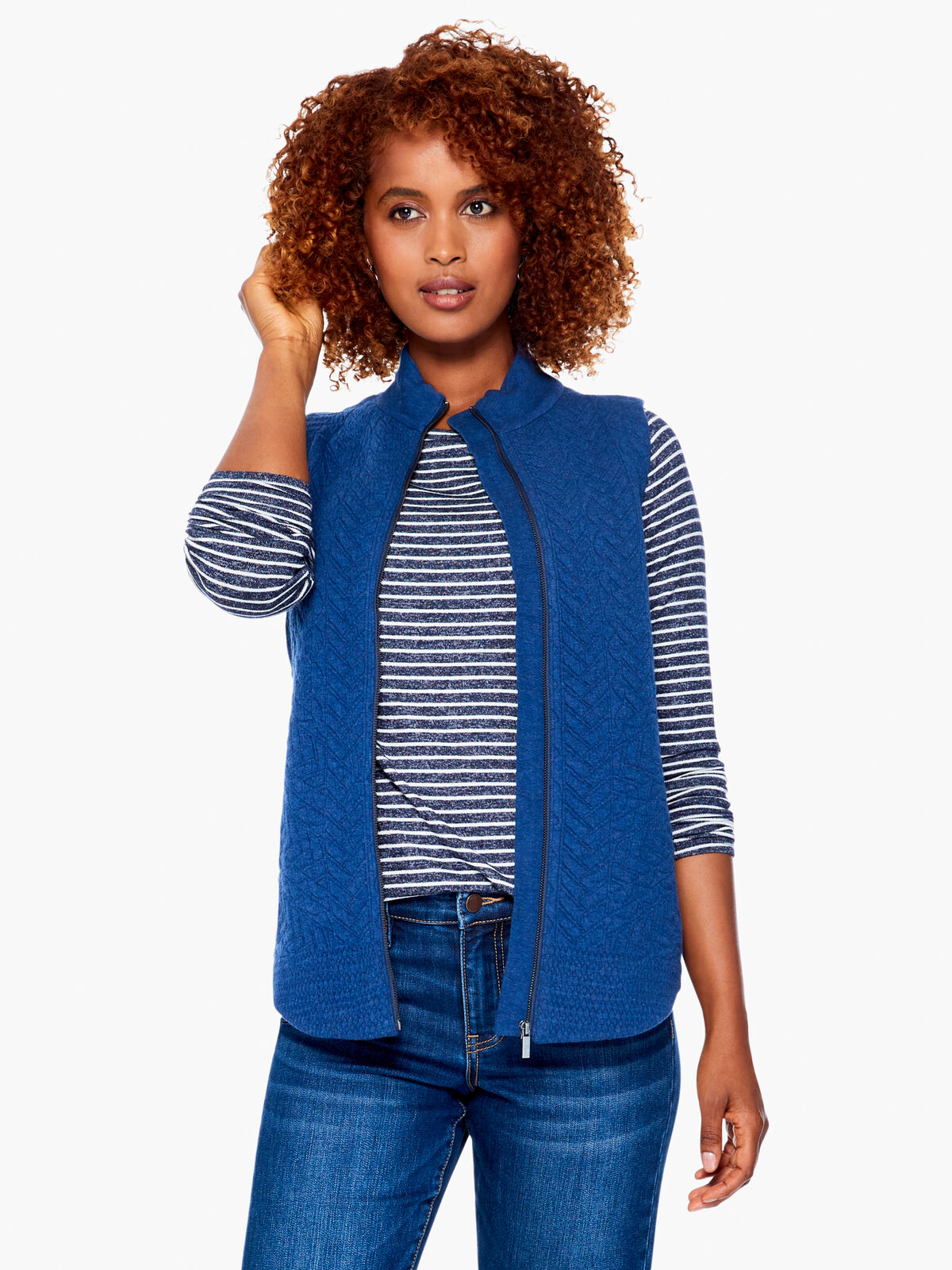 Night Sky Quilted Vest