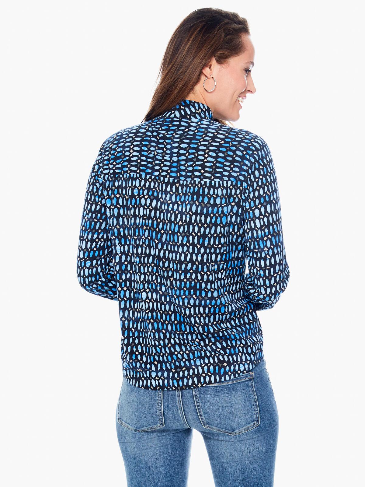 Blue Mosaic Live In Shirt