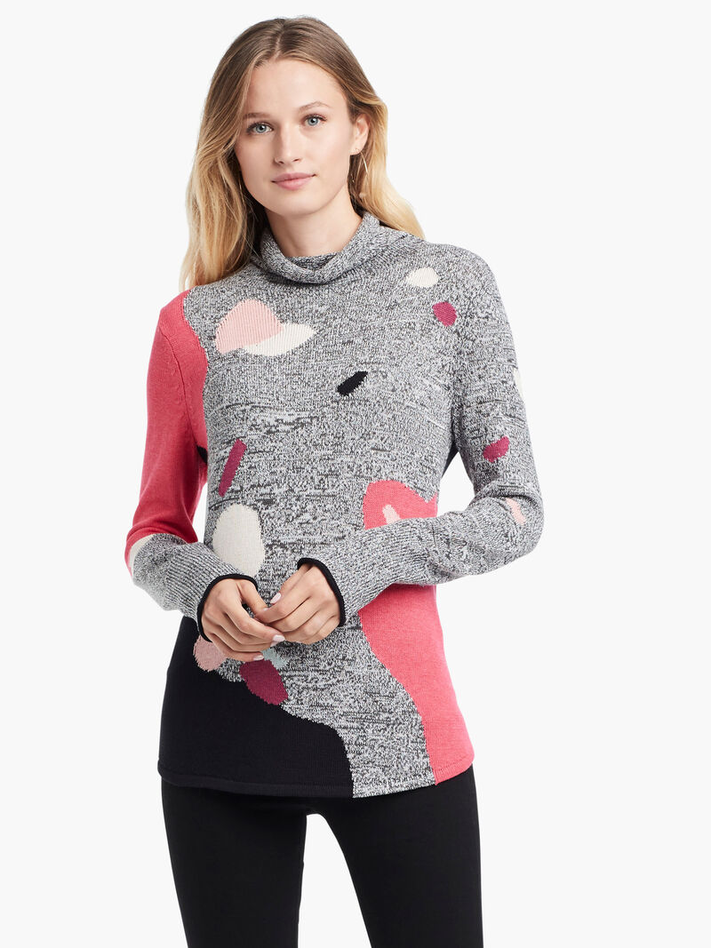 Abstract Intarsia Sweater image number 1