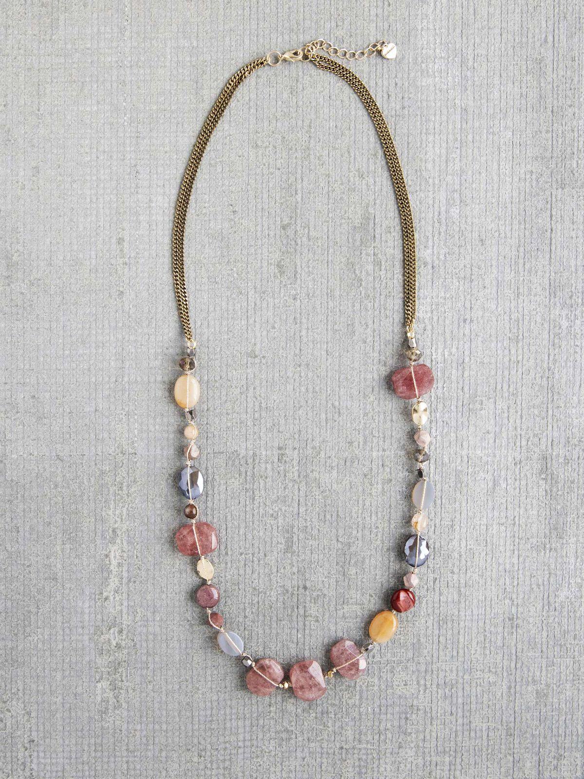 Nakamol Multi Stone Necklace