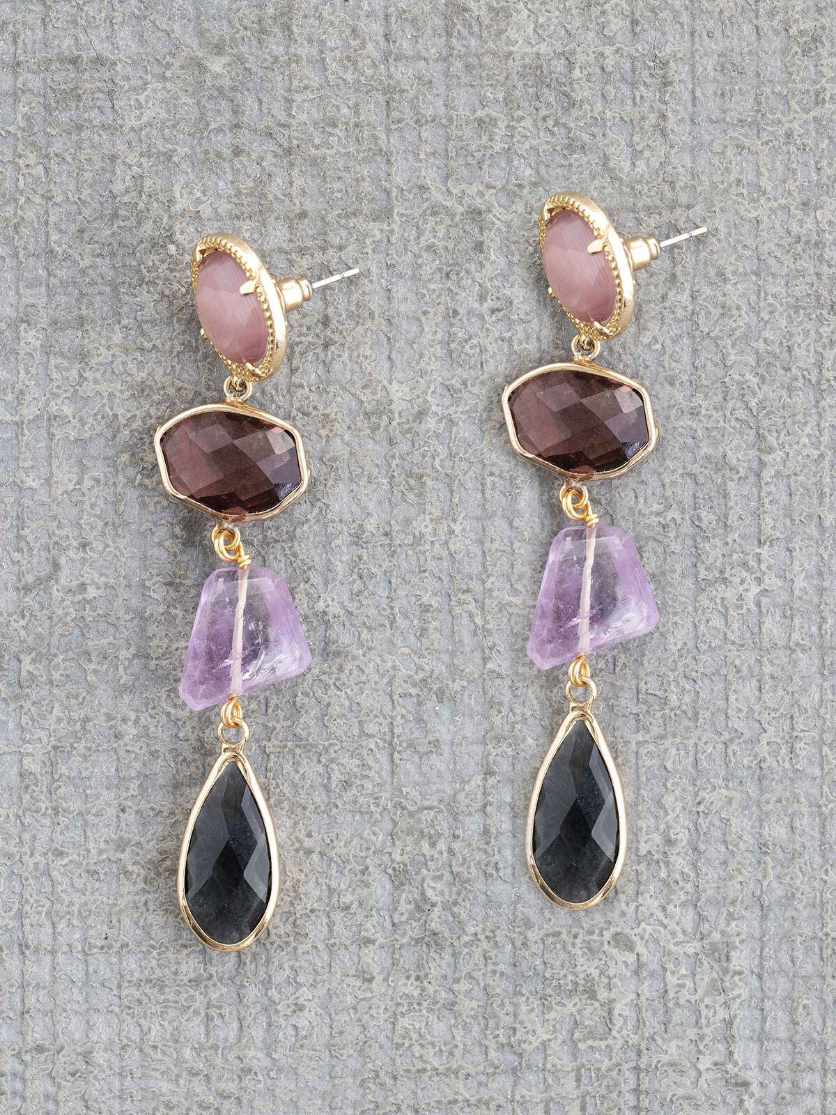 Nakamol Multi Stone Earring
