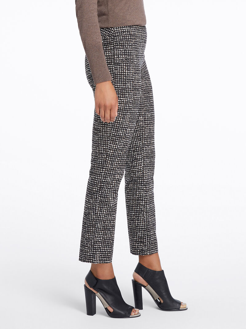 Abstract Tweed Wonderstretch Pant image number 2