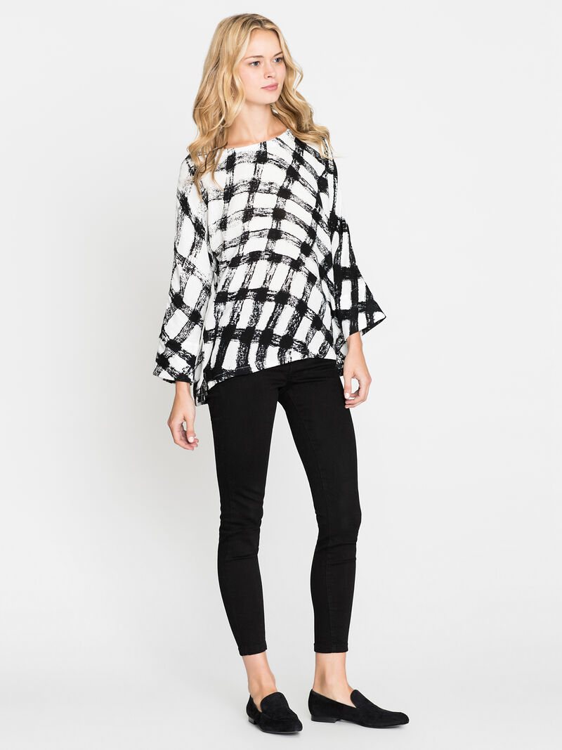Checkered Top image number 3