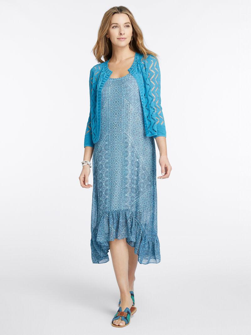 Santorini Tiles Dress image number 3