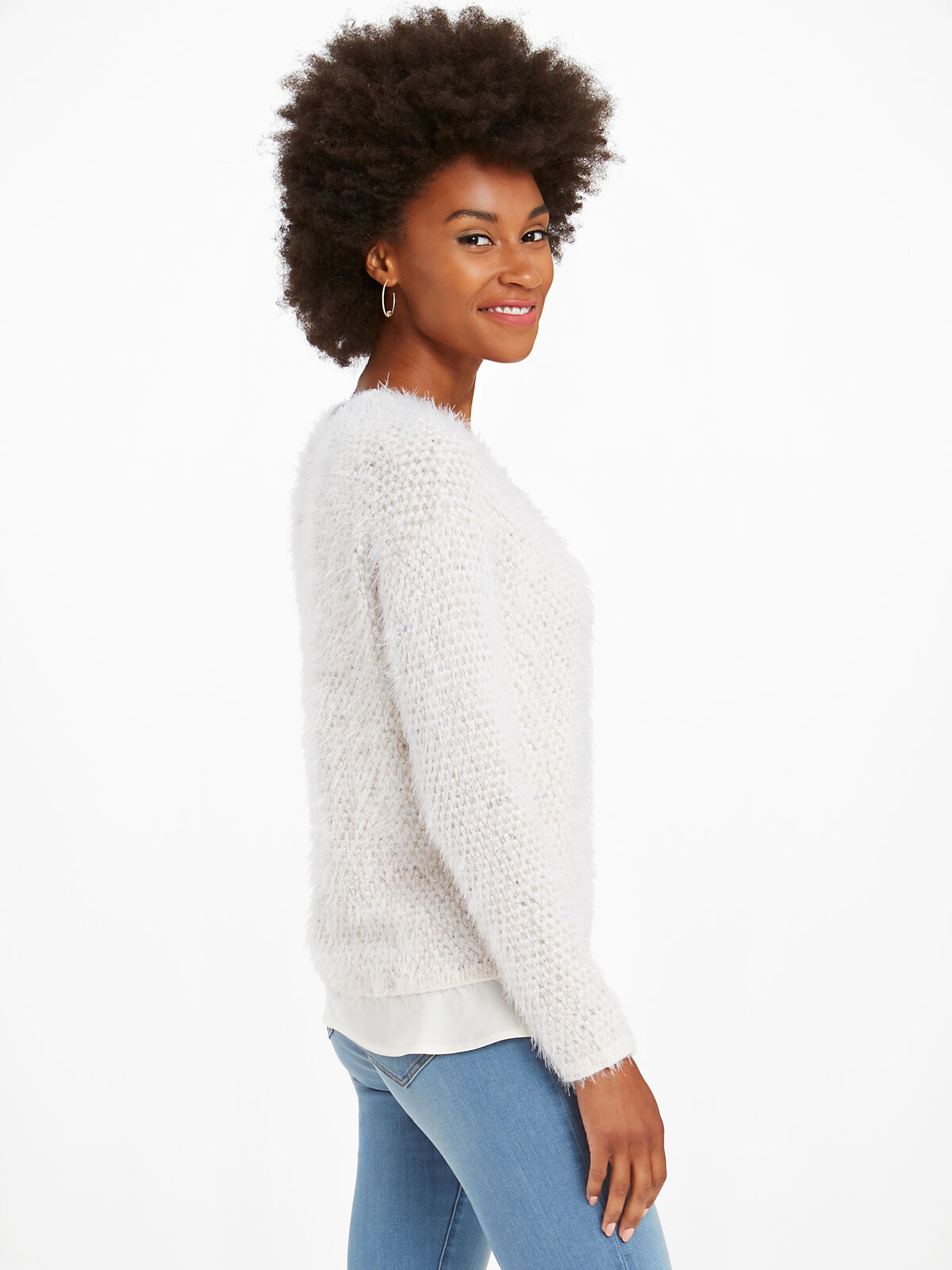 The Right Fluff Sweater