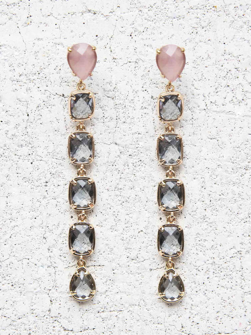 Nakamol Square Stone Drop Earrings
