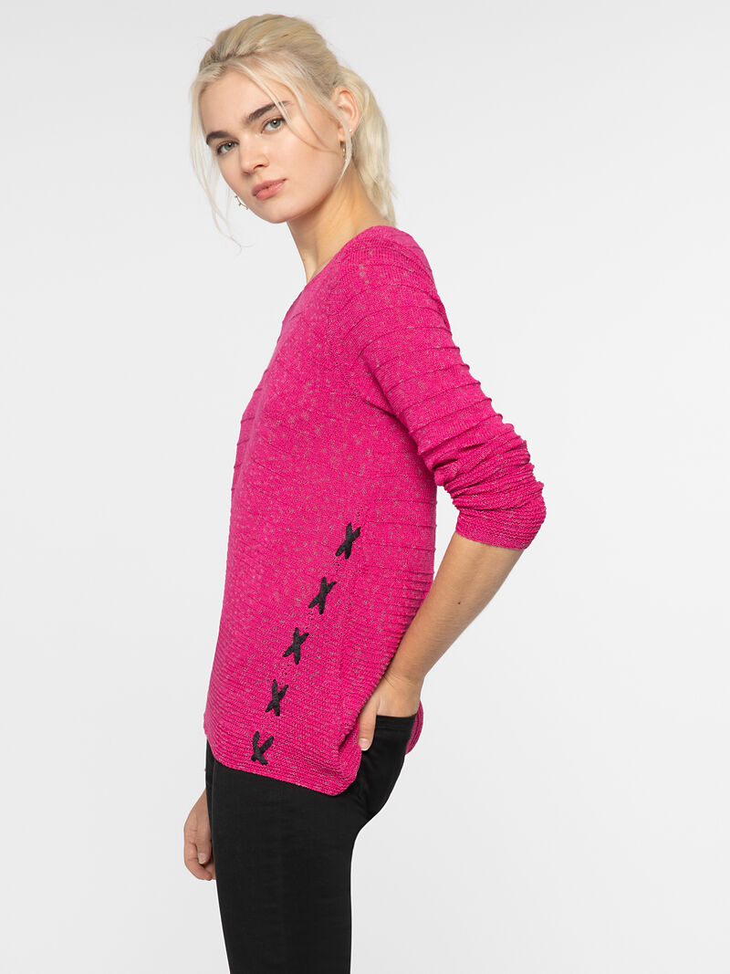 CROSS STITCH SWEATER image number 1
