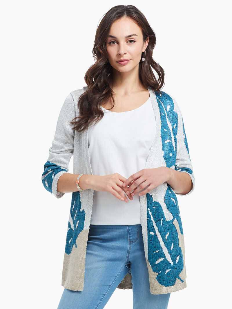 Falling Fronds Cardigan