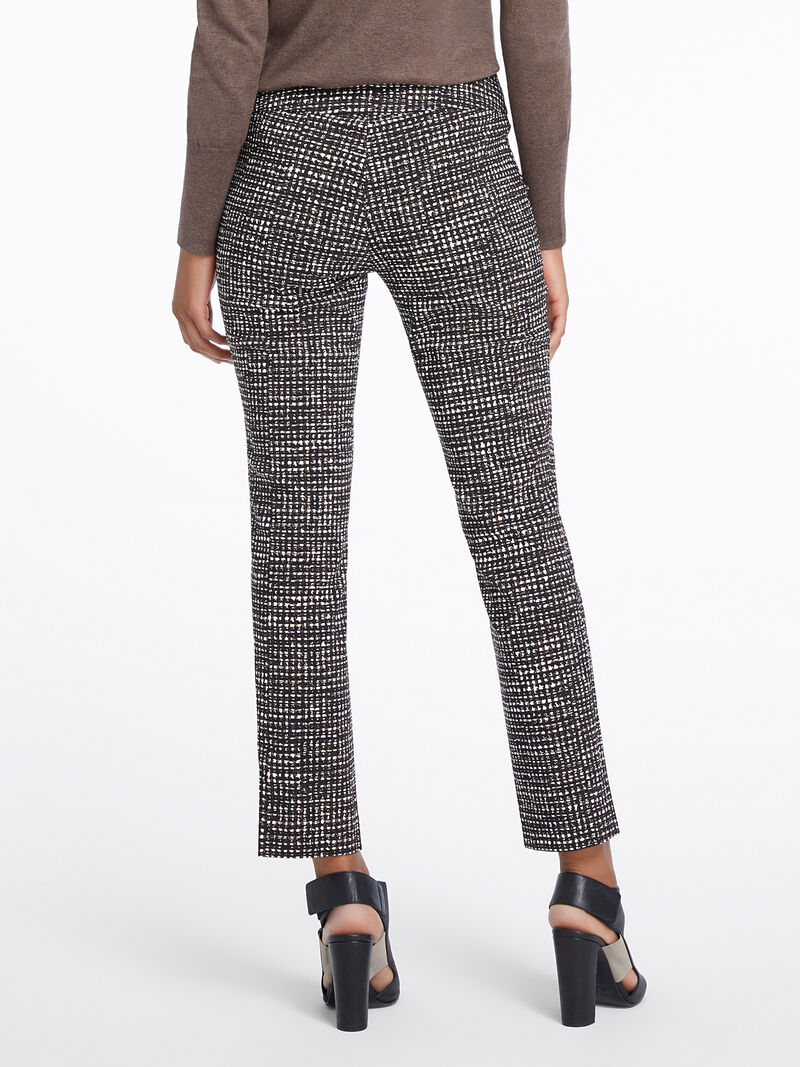 Abstract Tweed Wonderstretch Pant image number 3