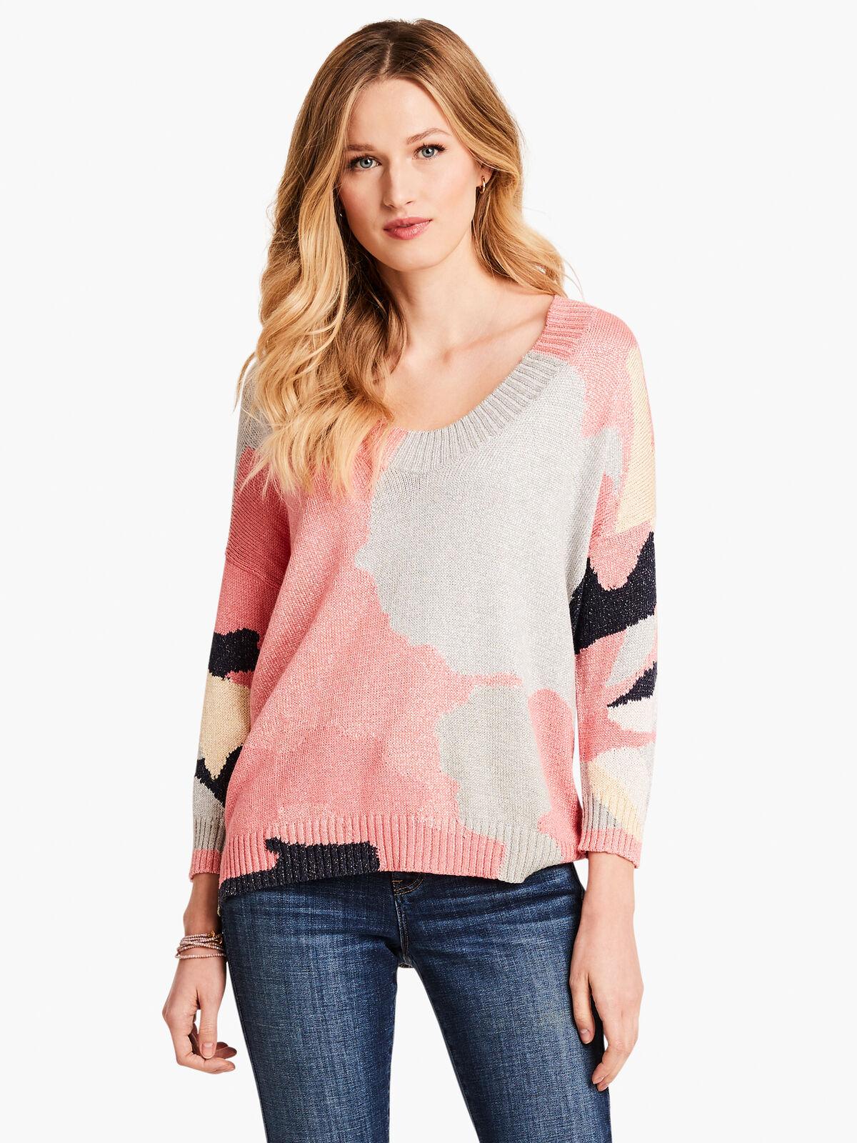 Citrus Splash Sweater