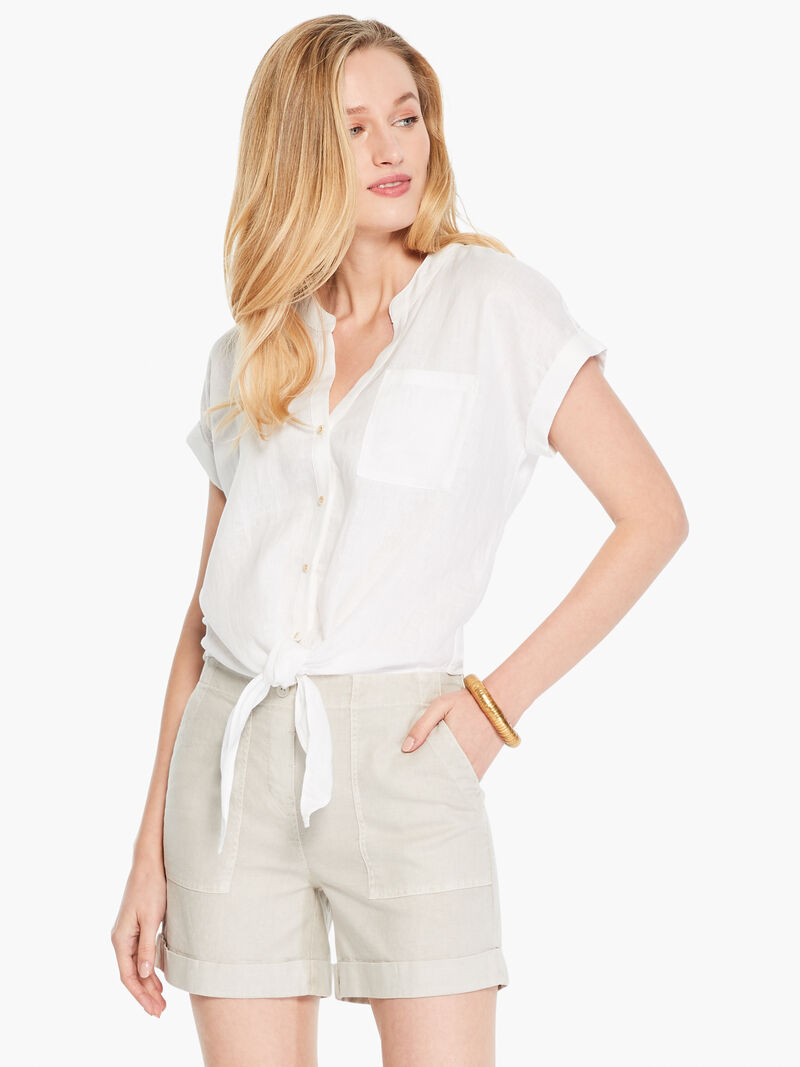 Linen Stretch All Around Short