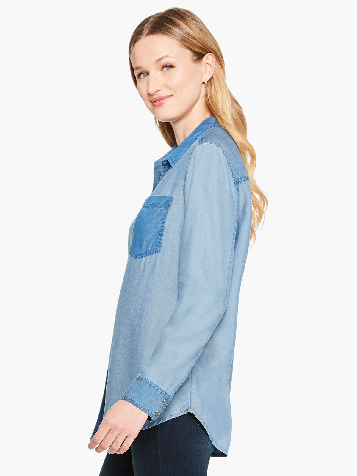 In And Out Chambray Shirt