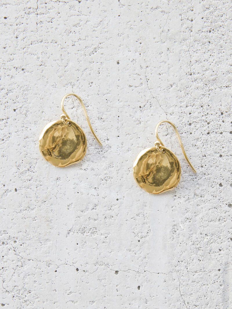 CHAN LUU PRESSED COIN EARRING image number 0