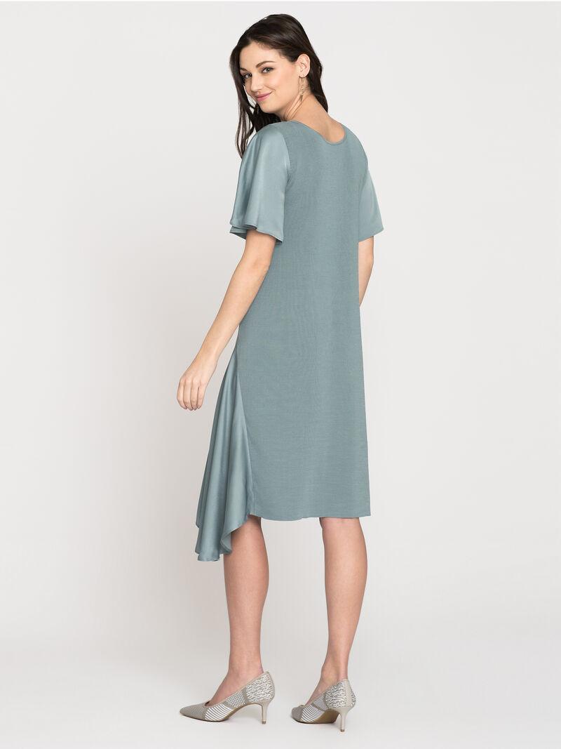 Mixed Flutter Dress image number 1
