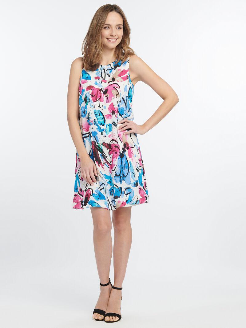 Vibrant Flora Dress image number 1