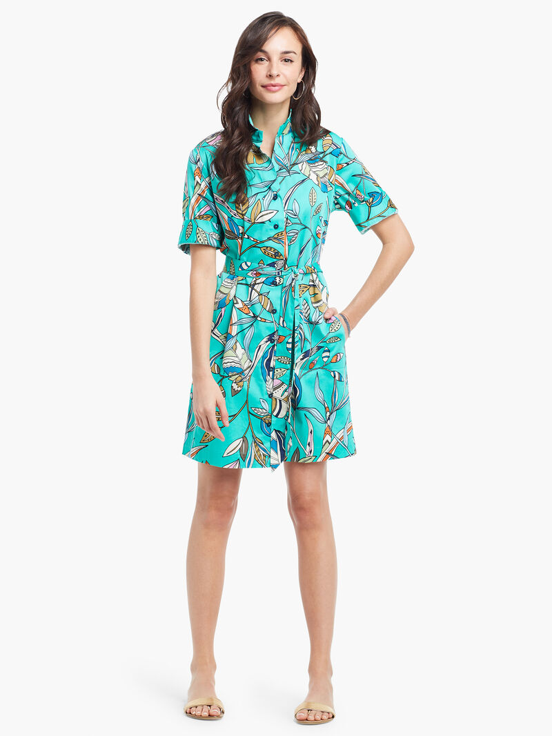 Riviera Botanic Shirt Dress