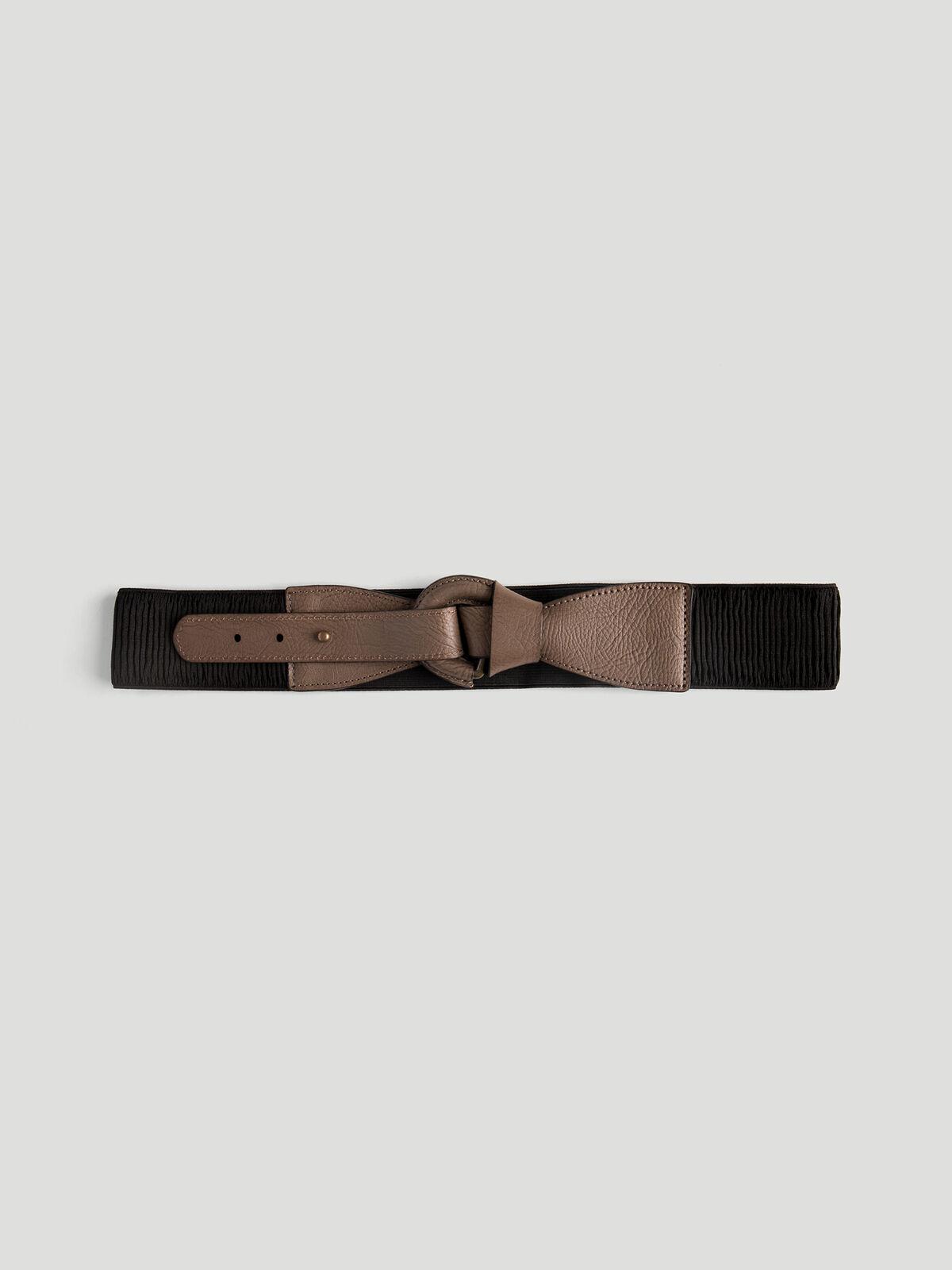 Foldover Leather Belt