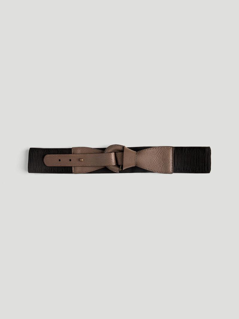 Foldover Leather Belt image number 0