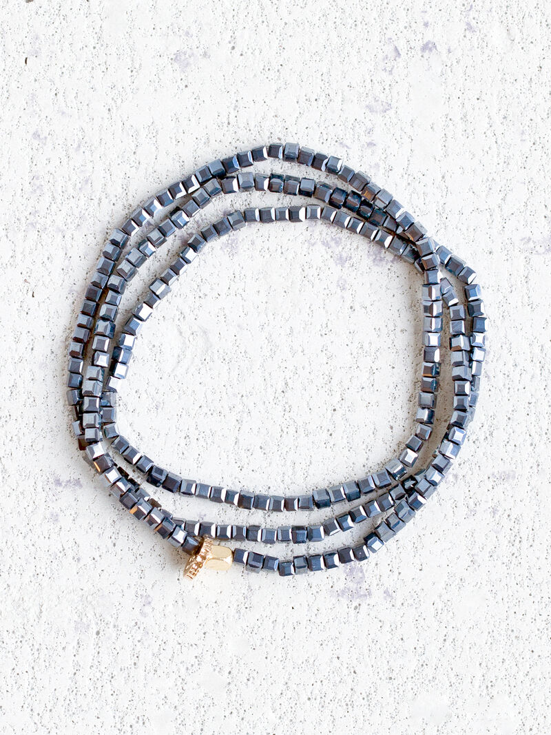 Stretch Crystal Bead Strand image number 0