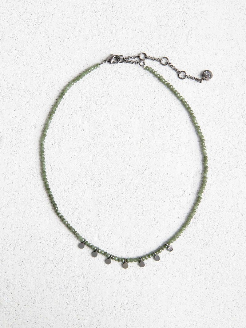 Marlyn Schiff Short Charmed Necklace