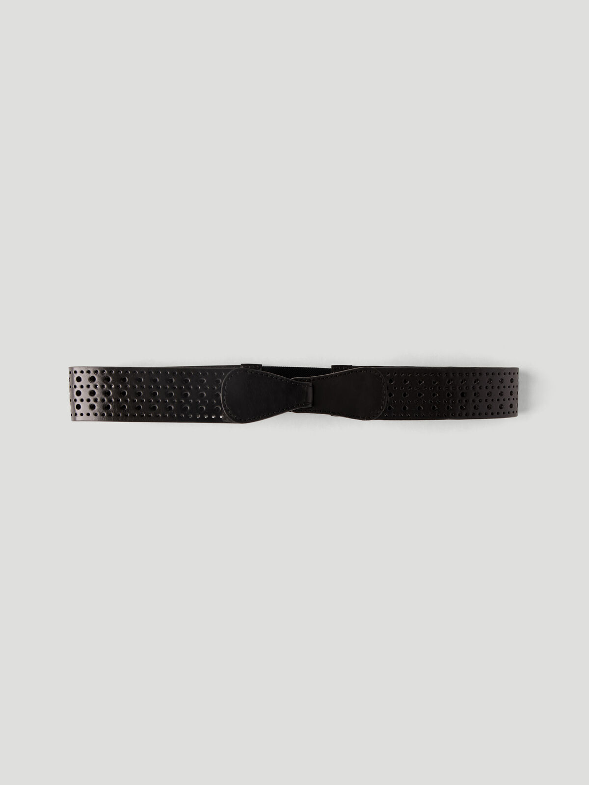 Punched Leather Belt