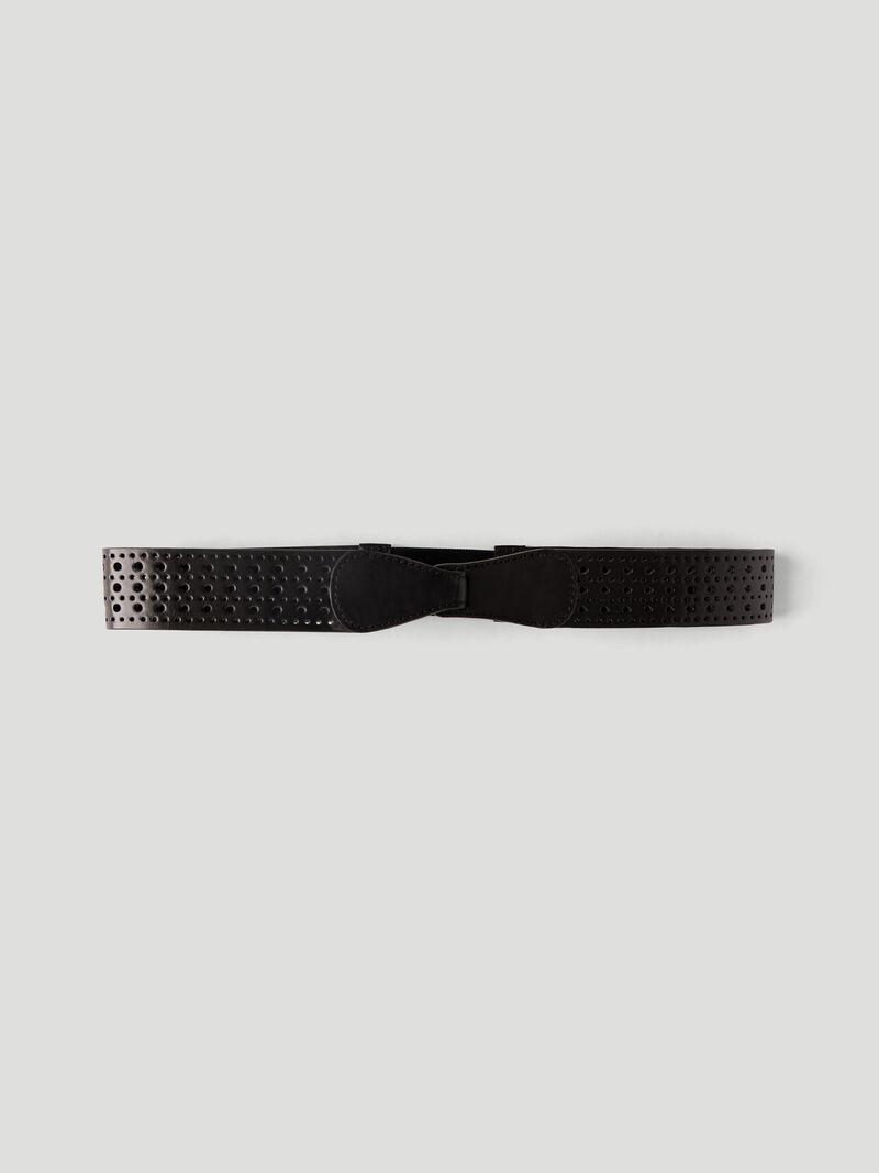Punched Leather Belt image number 1