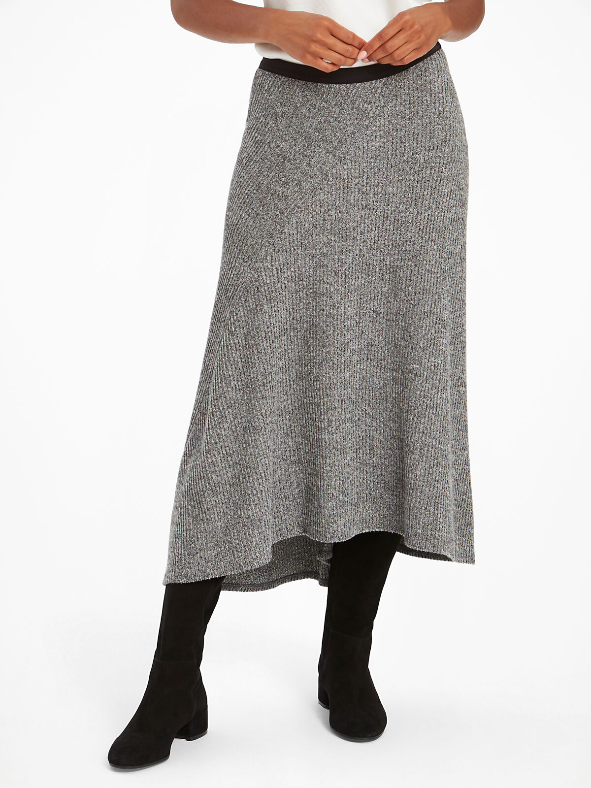 Cozy Aside Skirt