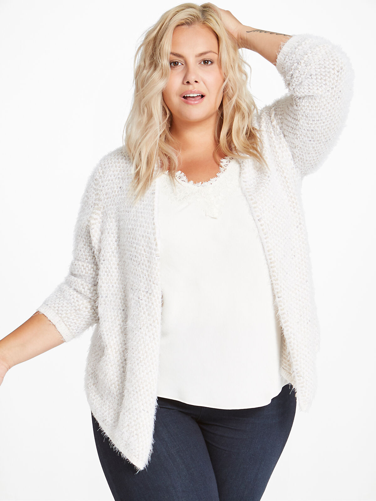 The Right Fluff Cardigan