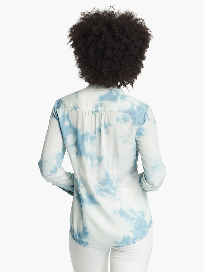 Tie Dye Denim Shirt image number 2