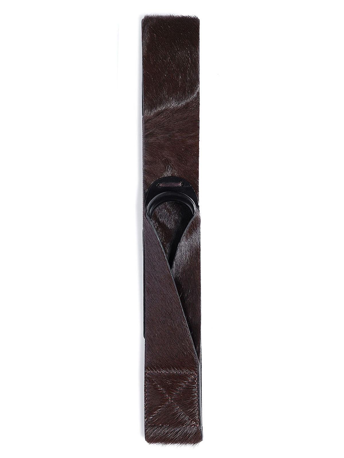 Pony Hair Loop Belt