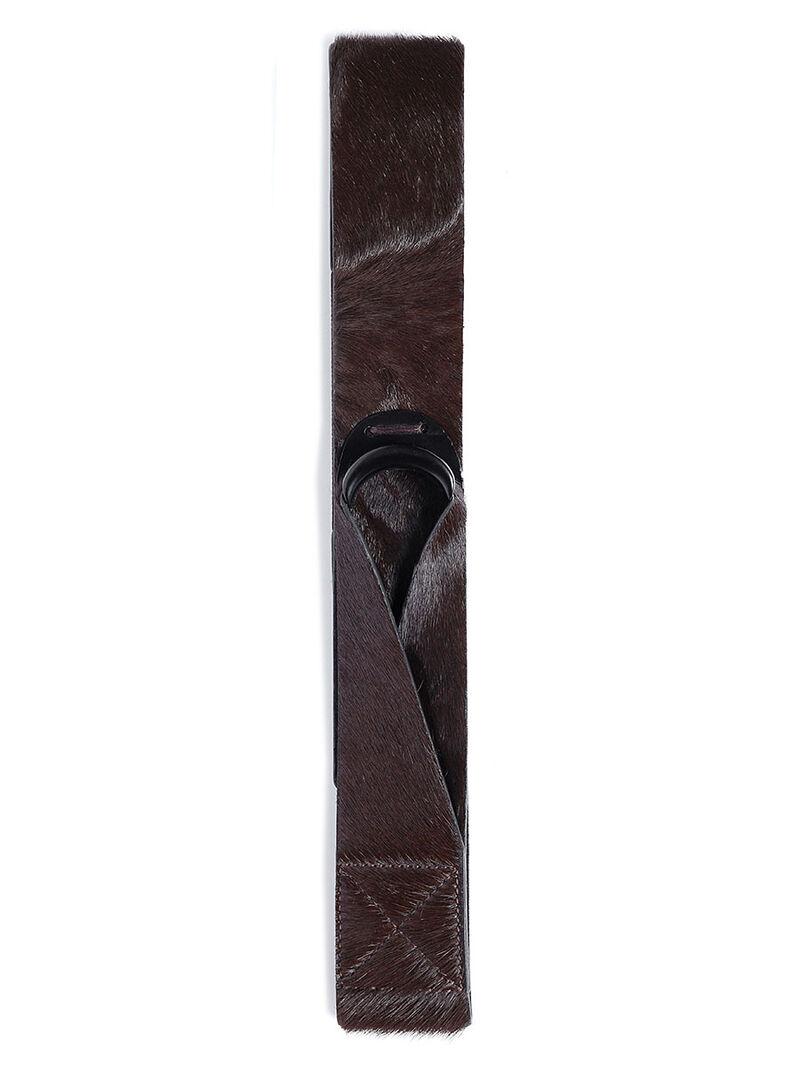 Pony Hair Loop Belt image number 0