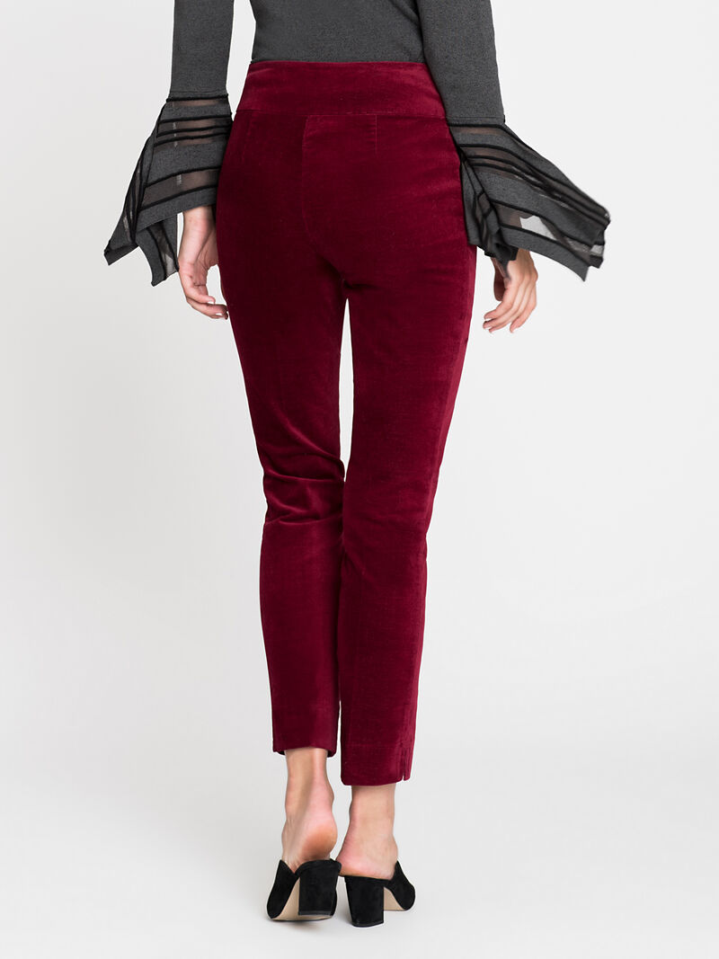 Velvet Side Zip Pant image number 3