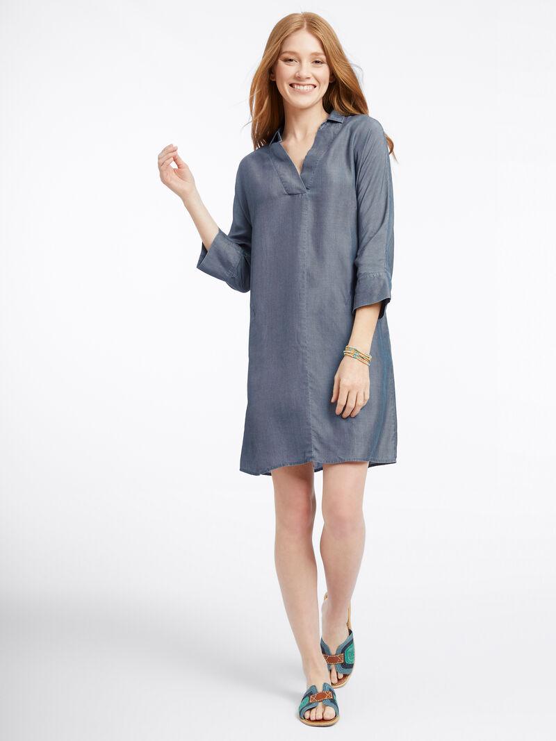 Denim Flowy Dress