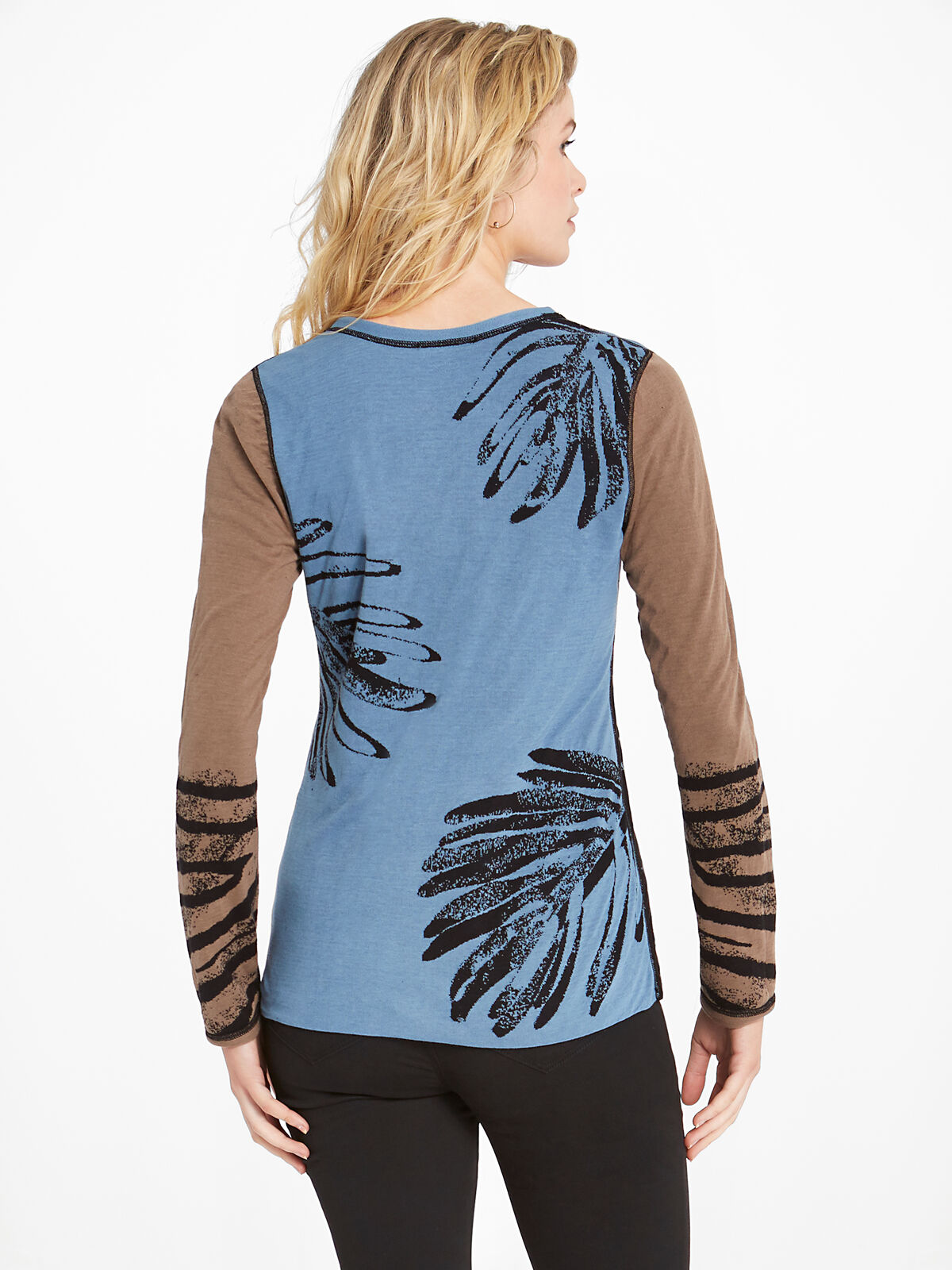 Wild Side Reversible Sweater