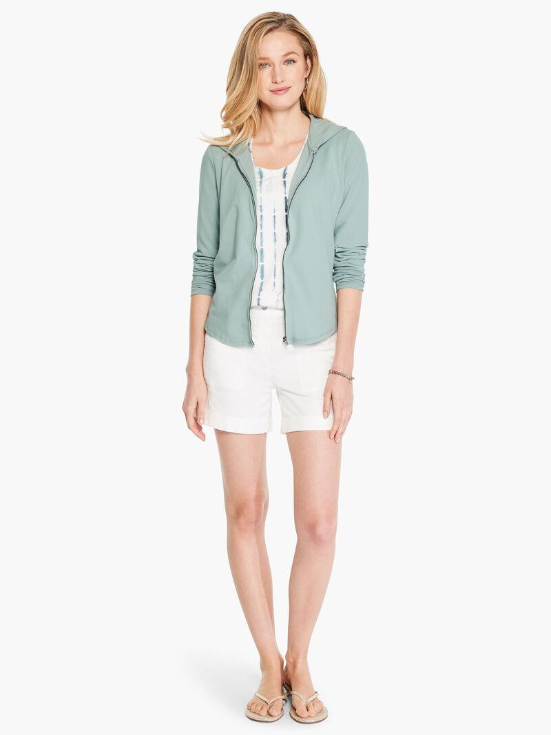 Ruffled Up Perfect Knit Jacket image number 3