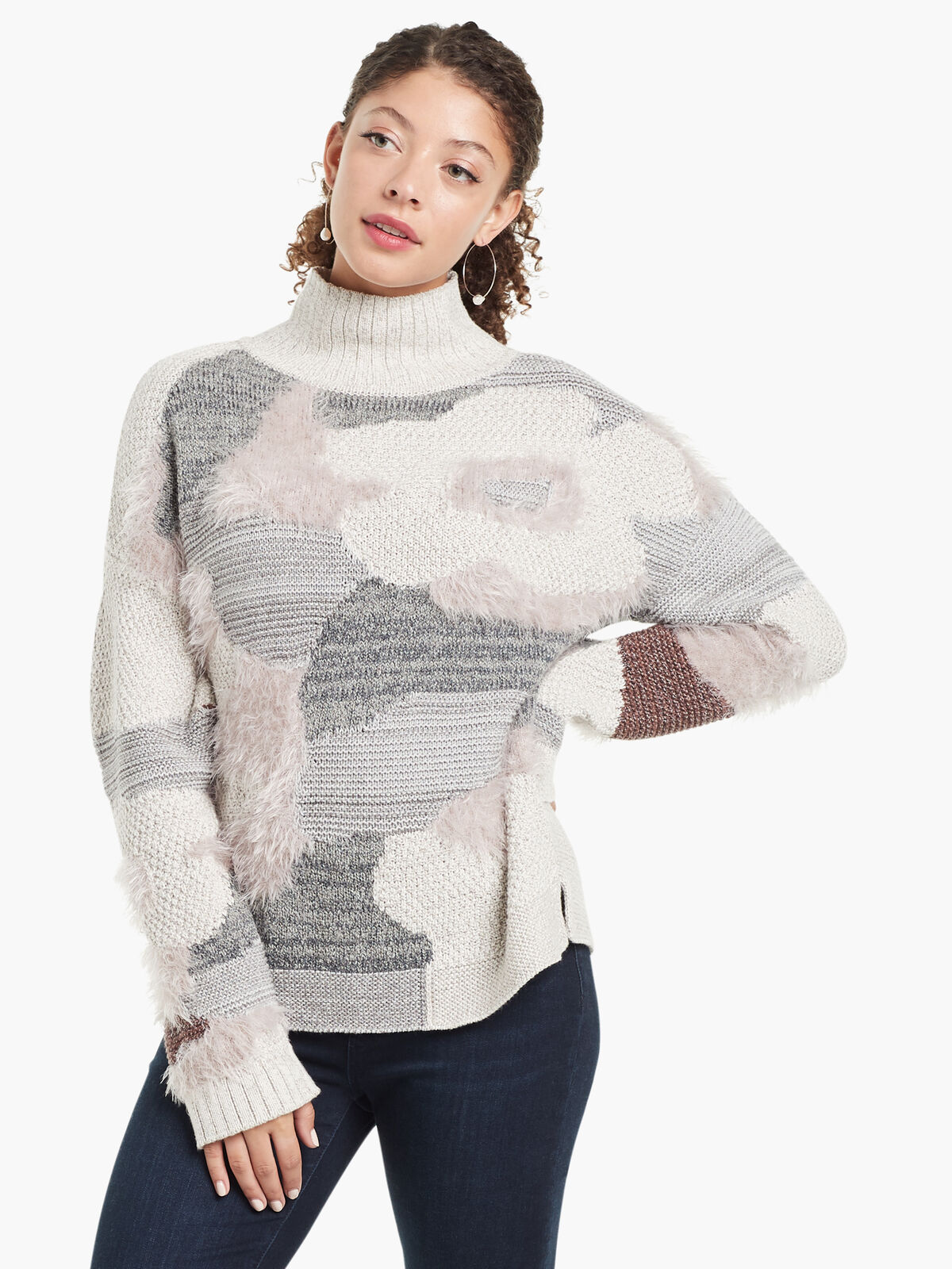 Fluffy Florals Sweater
