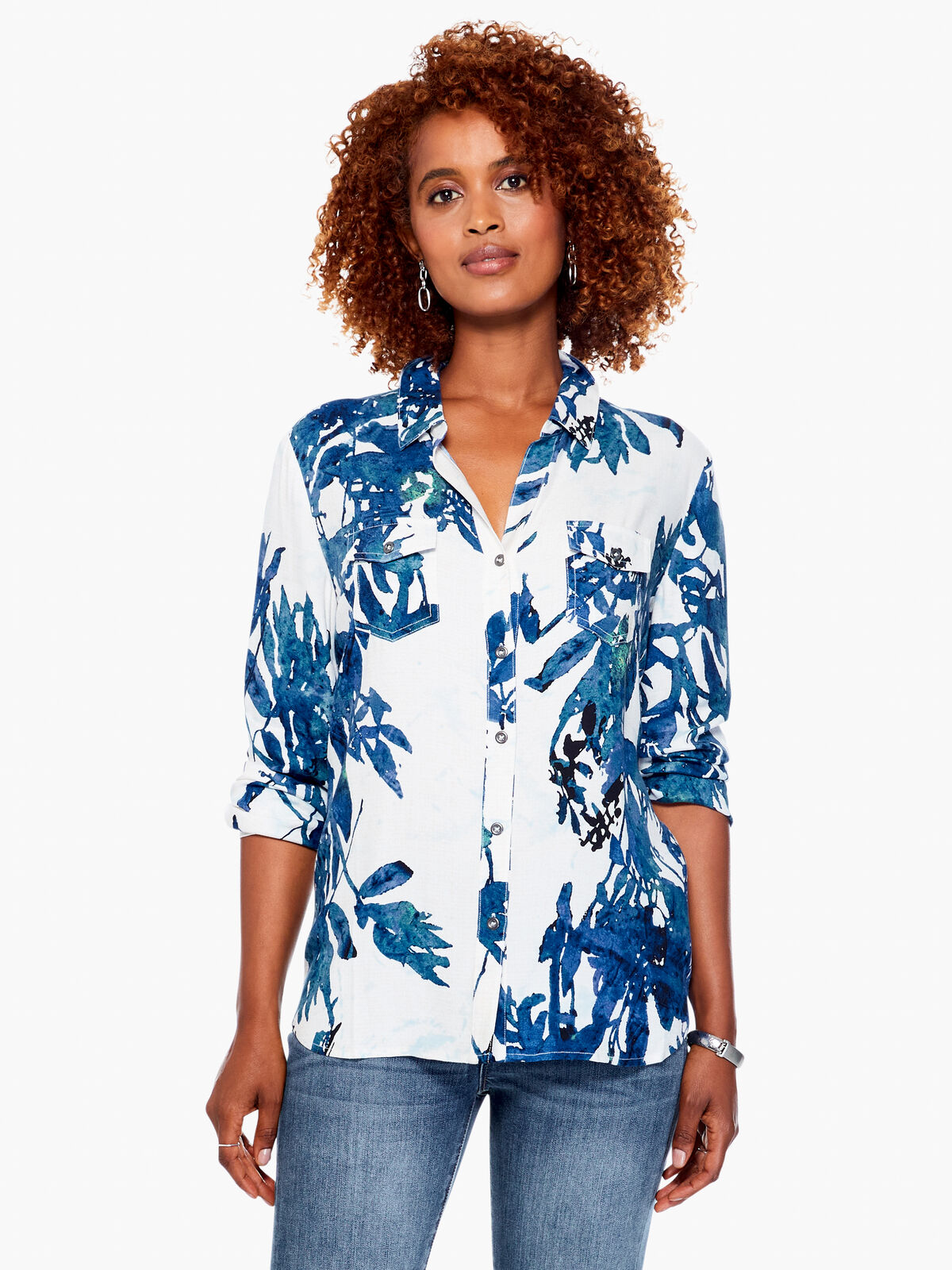 Batik Foliage Shirt