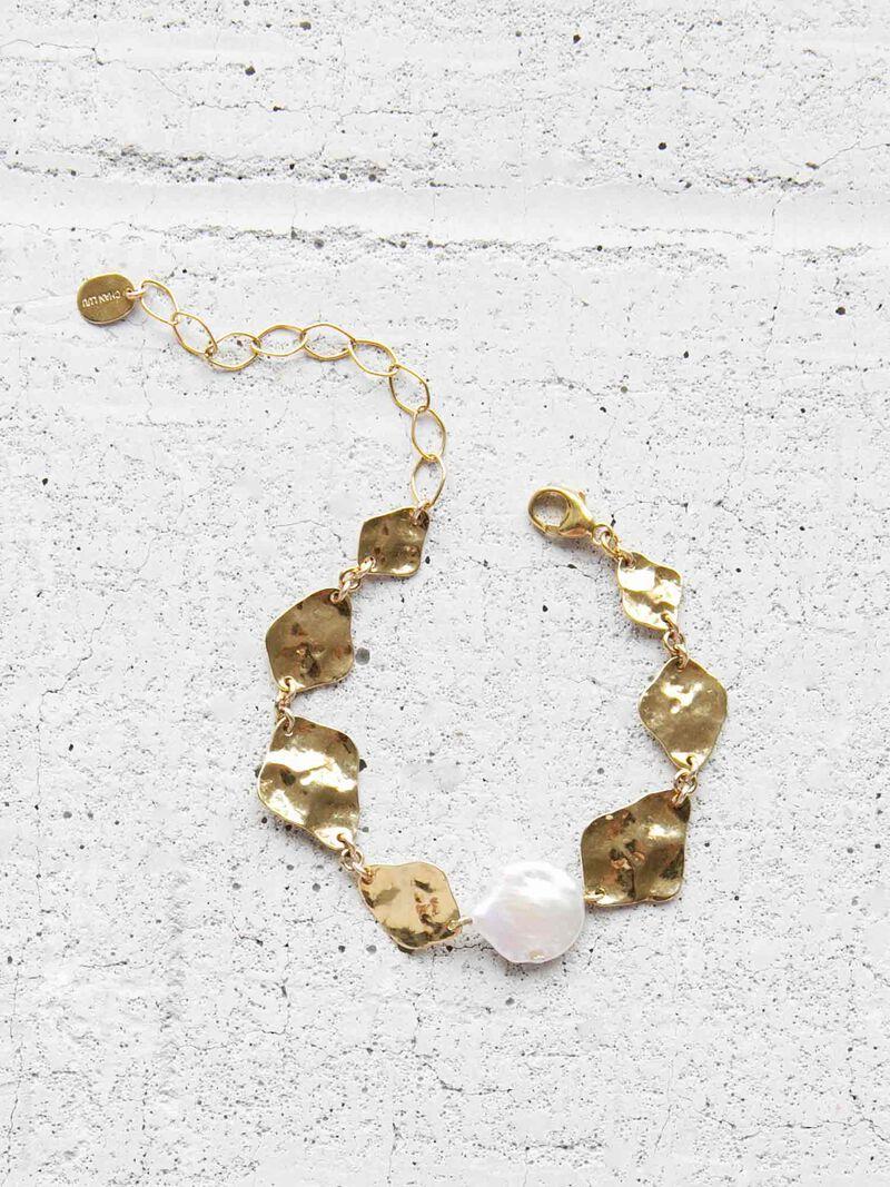 Chan Luu Pressed Plate Bracelet