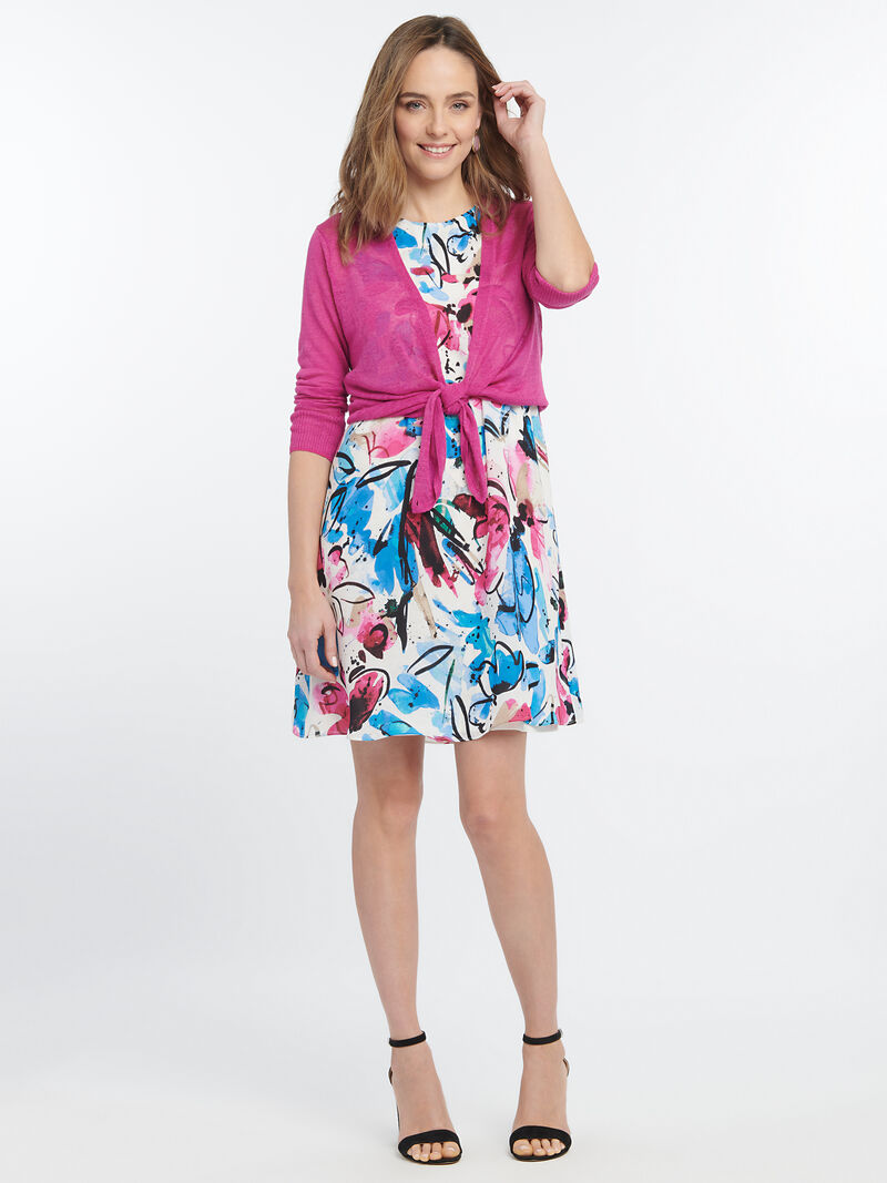 Vibrant Flora Dress image number 3