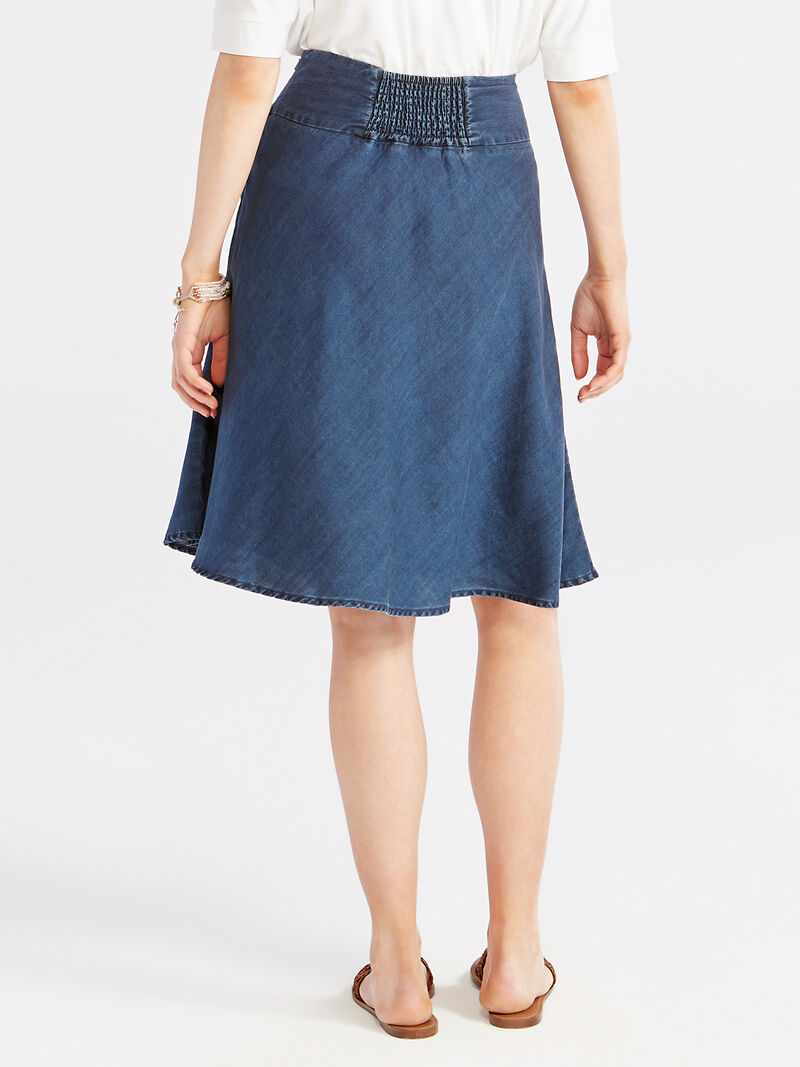 Summer Denim Fling Flirt Skirt image number 3
