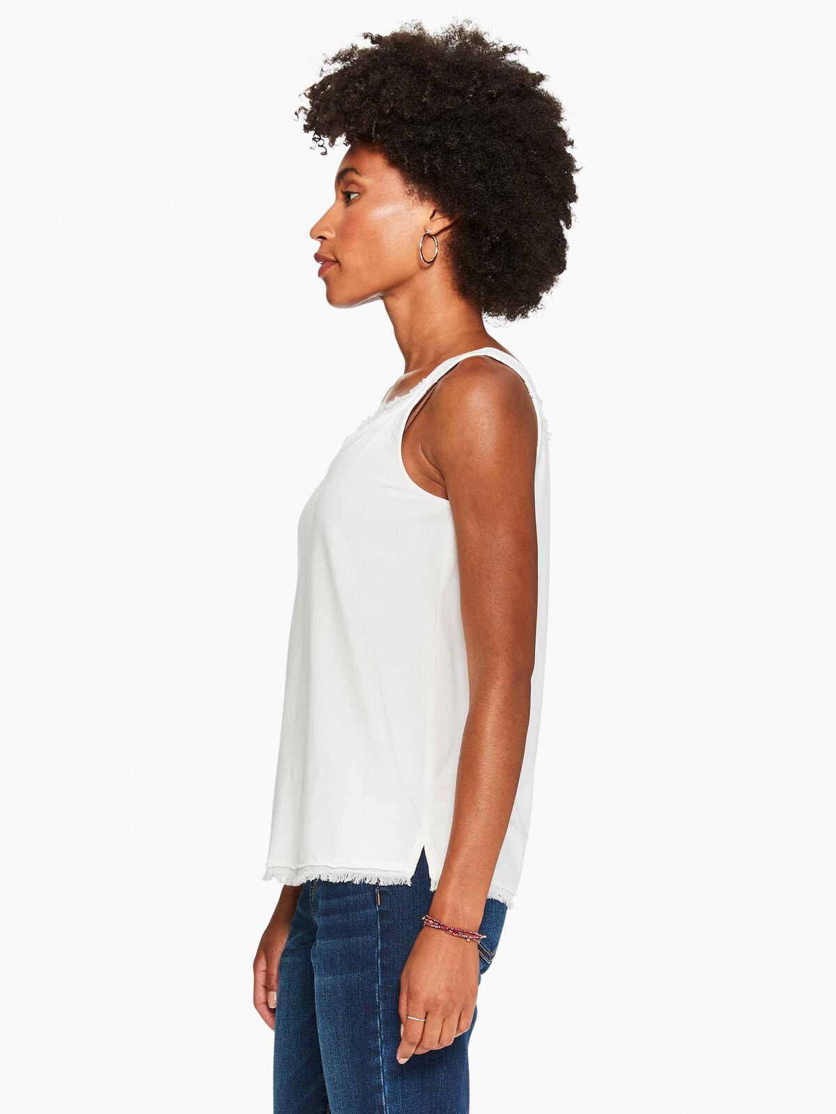 T-Shirt Fringe Cami