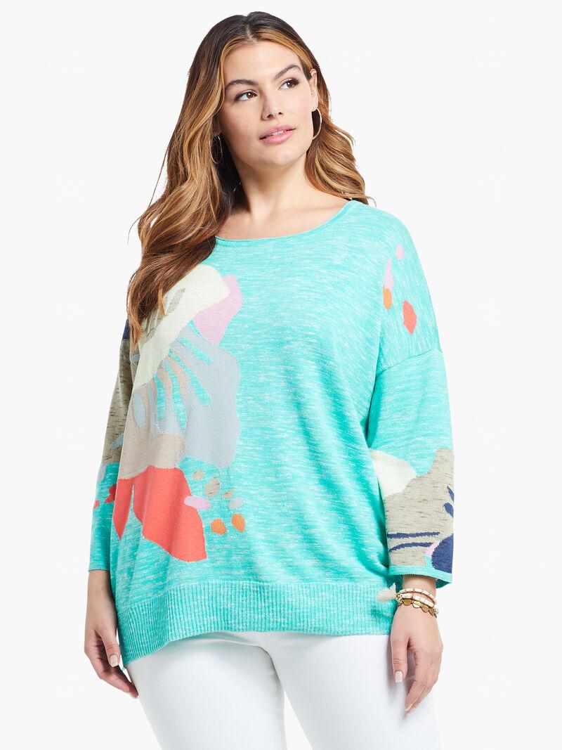Petal Burst Sweater image number 0