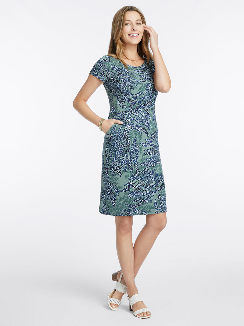 Leaf Direction Dress