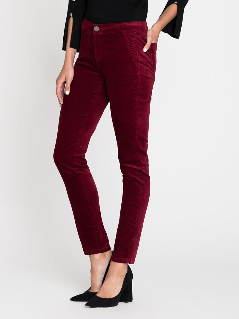 Stretch Velvet Pant image number 2