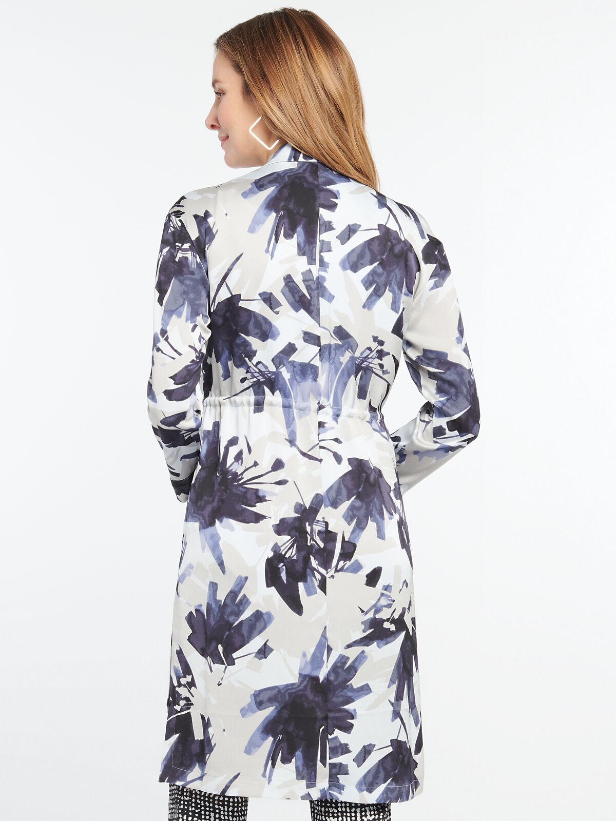 Inky Flowers Jacket