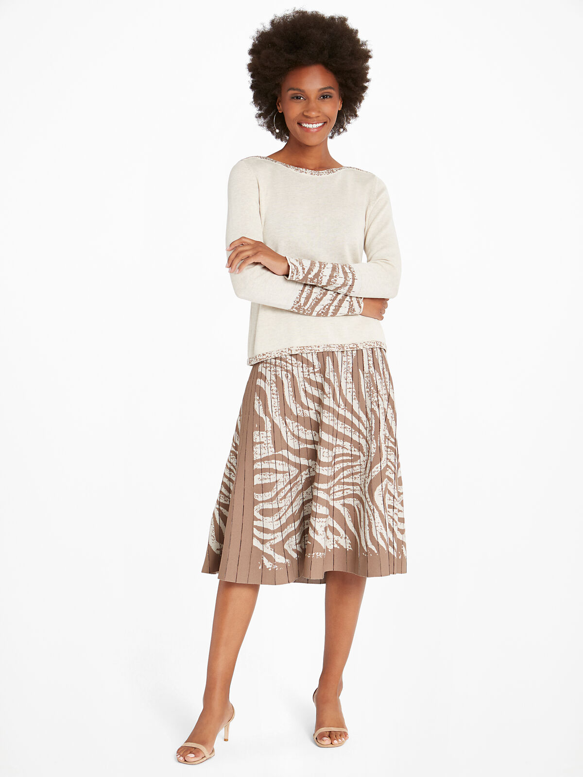 Show Your Stripes Skirt