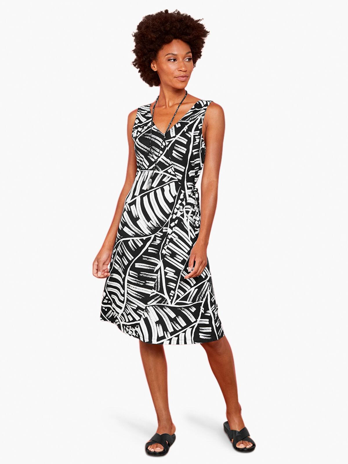 MOONLIT PALM DRESS