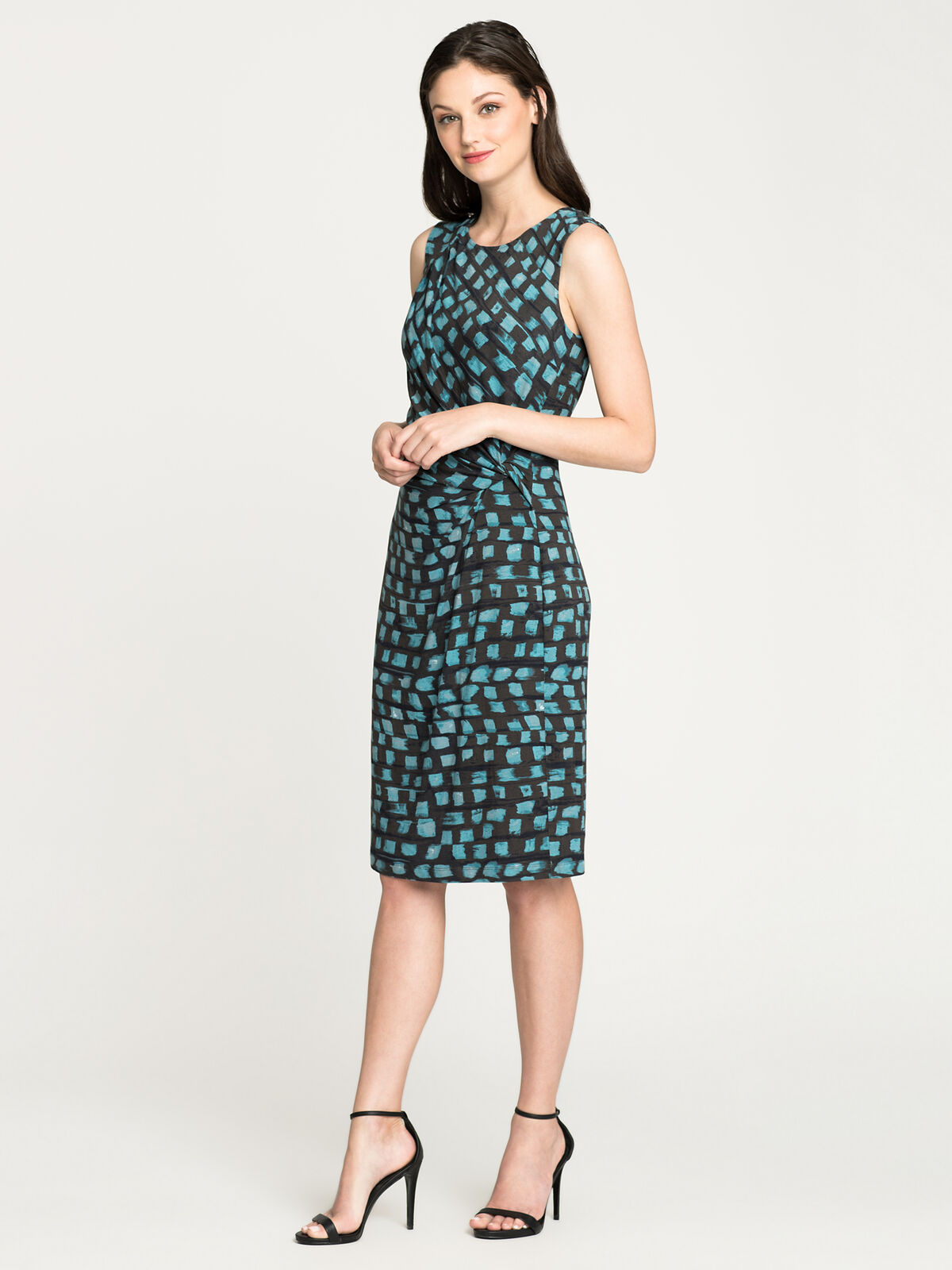 Vivid Twist Dress